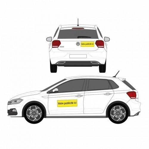 Kit adhésif pour véhicule commercial